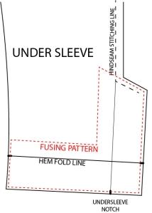 patternscissorscloth-undersleeve-fusing