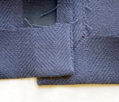 How to Sew a Tailored Sleeve Vent - a tutorial by Pattern Scissors Cloth