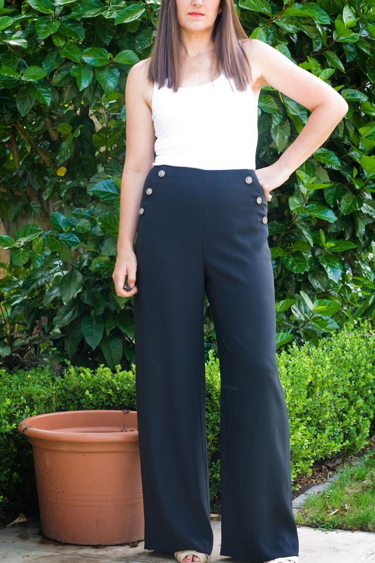 Trousers – Wide or Narrow Leg? – pattern scissors cloth