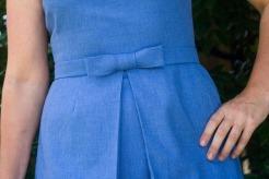 1969 Burda Bow Dress