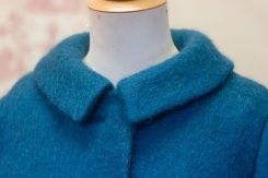 Teal Mohair Jacket