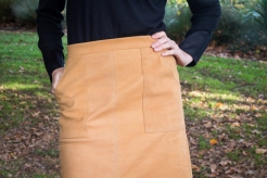 Seventies Suede Skirt