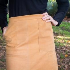 Seventies Suede Skirt