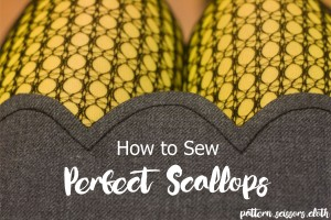 How to Sew Perfect Scallops