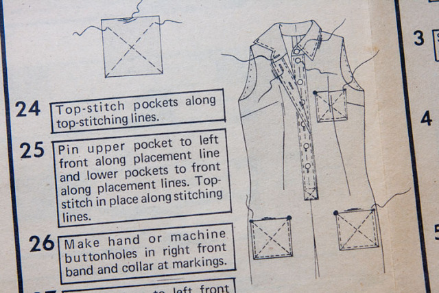 pocket sewing instructions