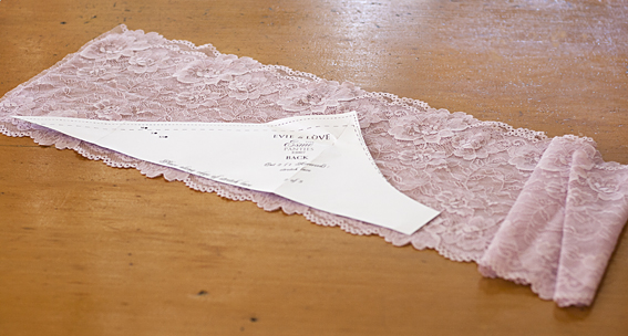 pattern scissors cloth lace