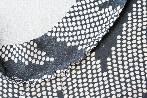 Sewing Technique : Invisible Binding : Tricks of the Trade by Pattern Scissors Cloth