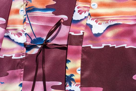 Sunset Print Kimono