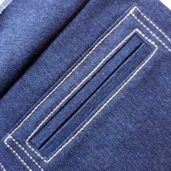Denim Sailor Pants - Pattern Scissors Cloth