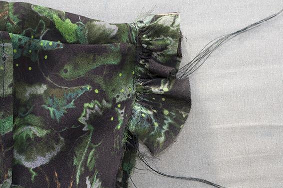 Sewing Sleeve Ruffle DP Studio Le 604 Shirt