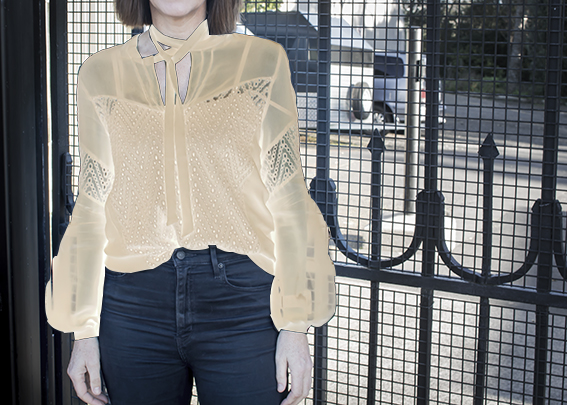 Victorian Blouse by Pattern Scissors Cloth