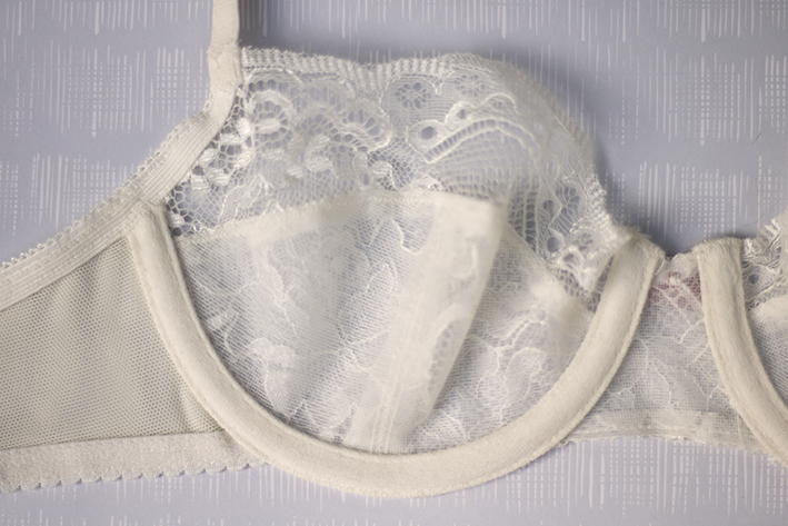 Delicate Lace Bra by Pattern Scissors Cloth