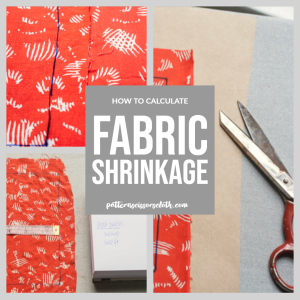 How To Calculate Fabric Shrinkage