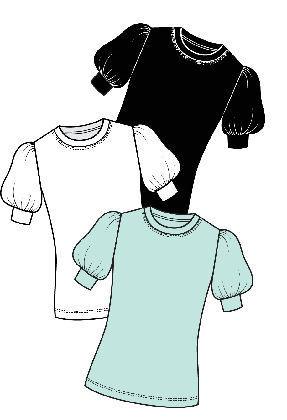 Galaxy T-Shirt Sewing Pattern