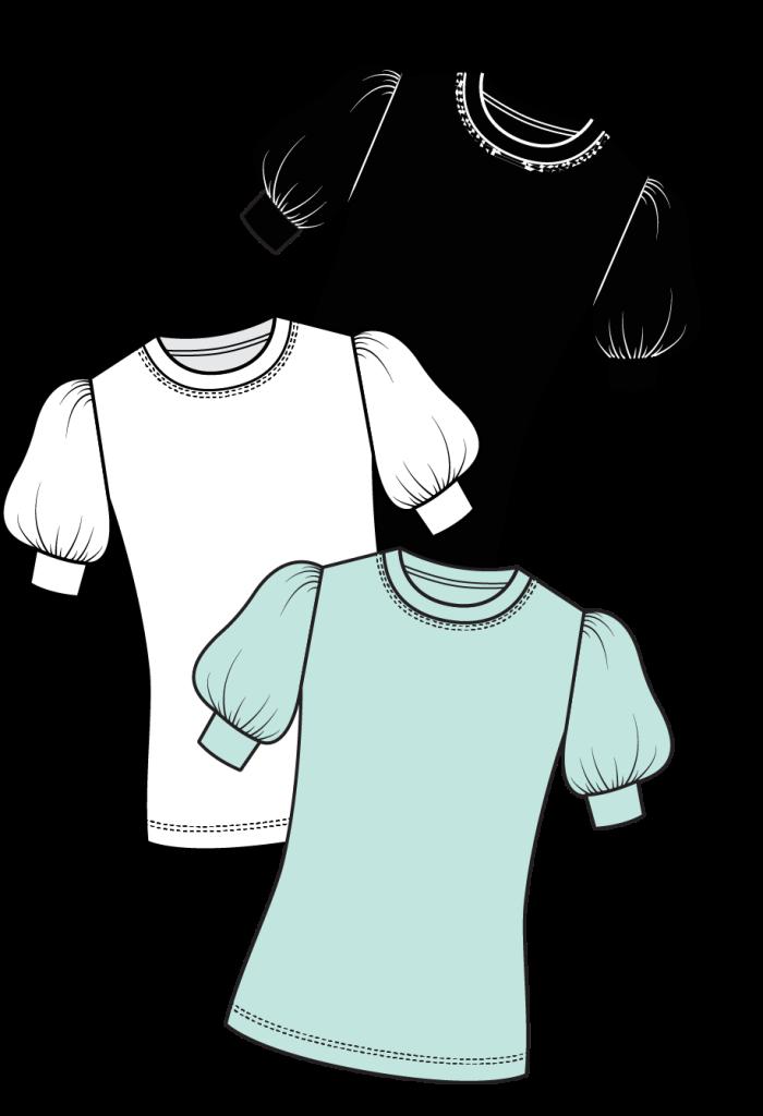 Galaxy T-Shirt Sewing Pattern